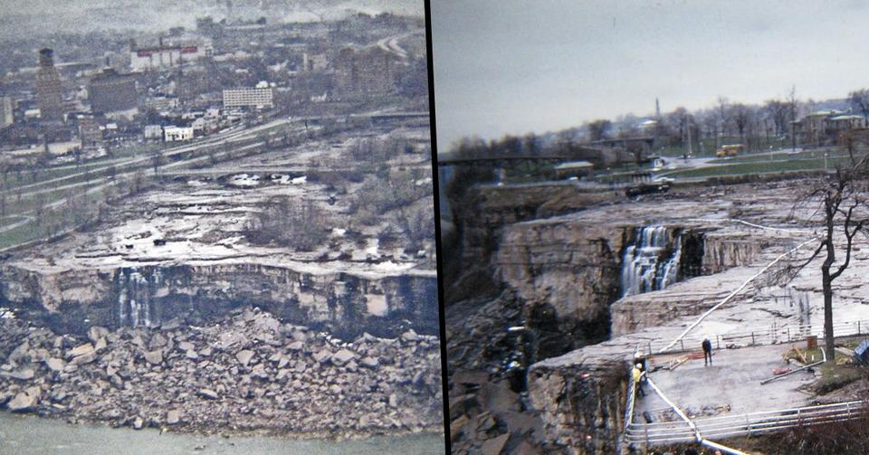 When Engineers Drained The Niagara Falls In 1969 They Made