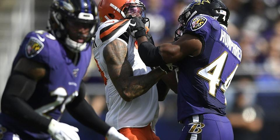 Browns Beckham Fined 14k For Incident With Ravens Last Week