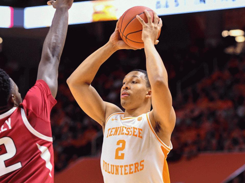 College Basketball Rankings Tennessee Replaces Duke As No