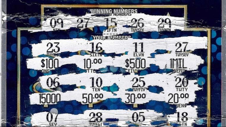 Michigan Lottery: Macomb County man wins $1M on scratch off