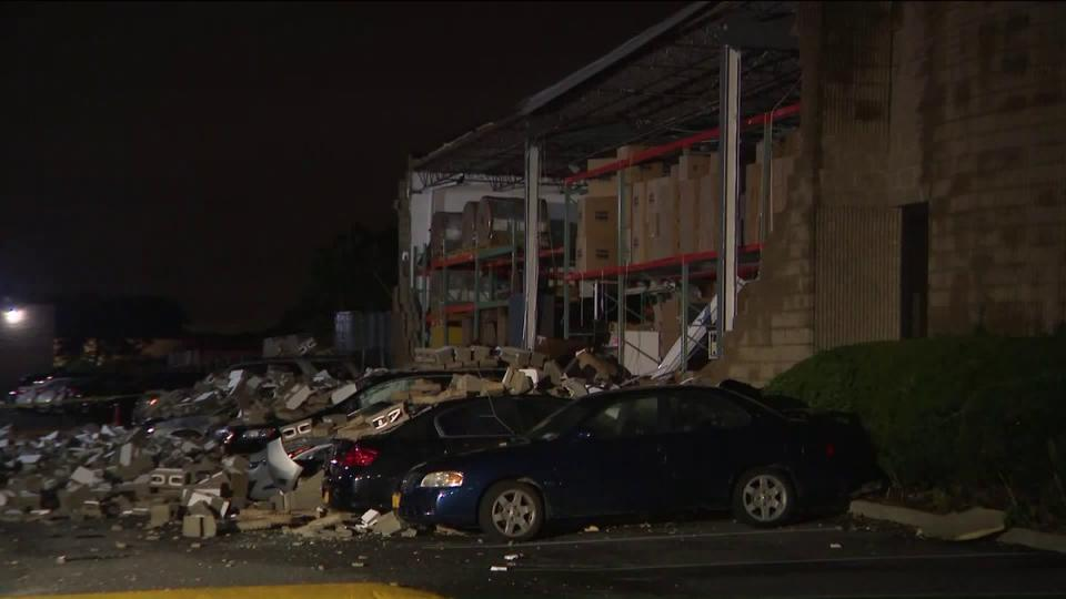 Storms cause partial building collapse on Long Island | News