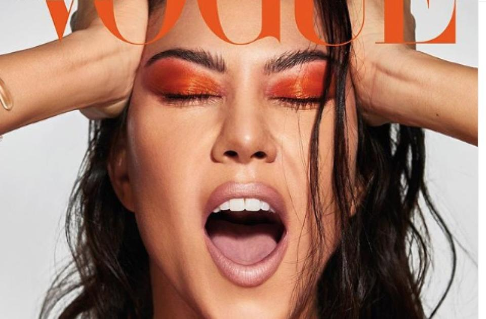 Kourtney Kardashian Is Flawless On Debut Vogue Cover News