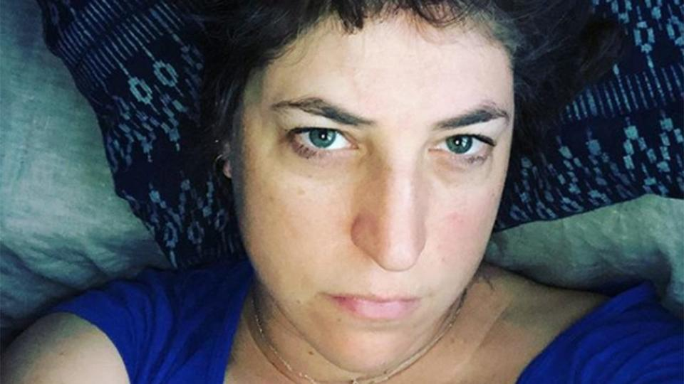 Mayim Bialik Says She S Not Doing So Well On Christmas Eve