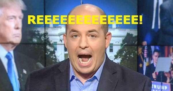 Oh, the humanity! CNN hall monitor Brian Stelter decries Donald ...