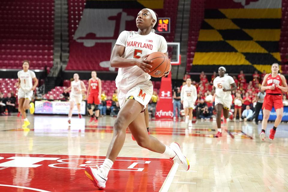 Mm 1 14 Maryland Women S Basketball Drops To No 20 In