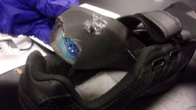 Deputies find meth-filled shoes delivered to Pueblo County