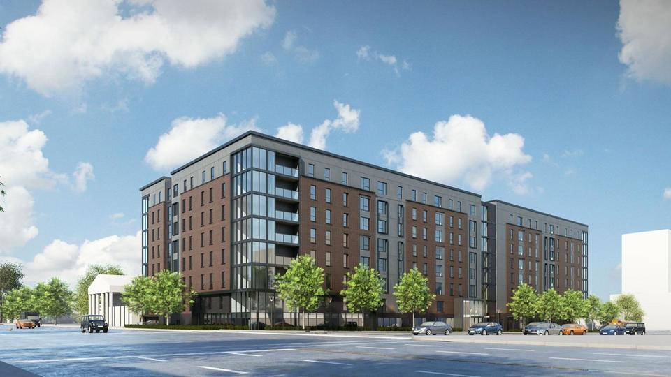 Proposed Student Apartments Near