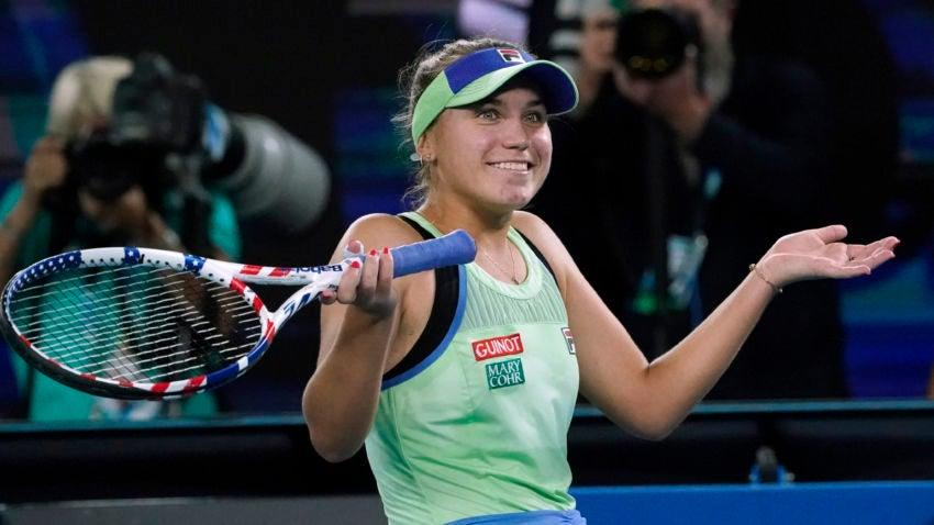 Image result for Sofia Kenin crazy""