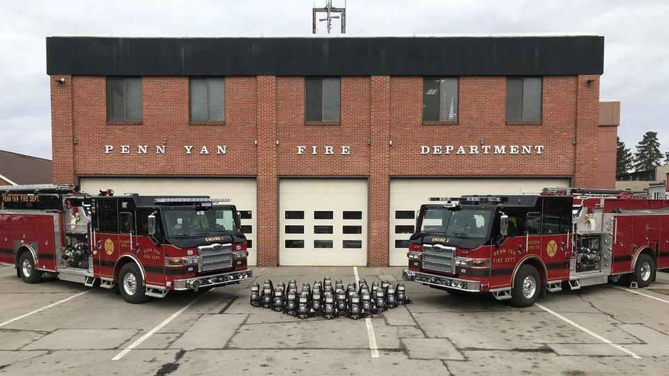 Penn Yan FD gets air pack units with $210K federal grant