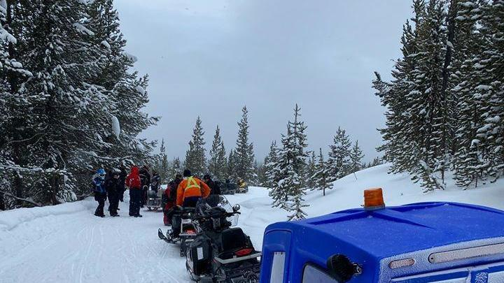 2 Injured In Snowmobile V Tree Incident Near West Yellowstone News Break