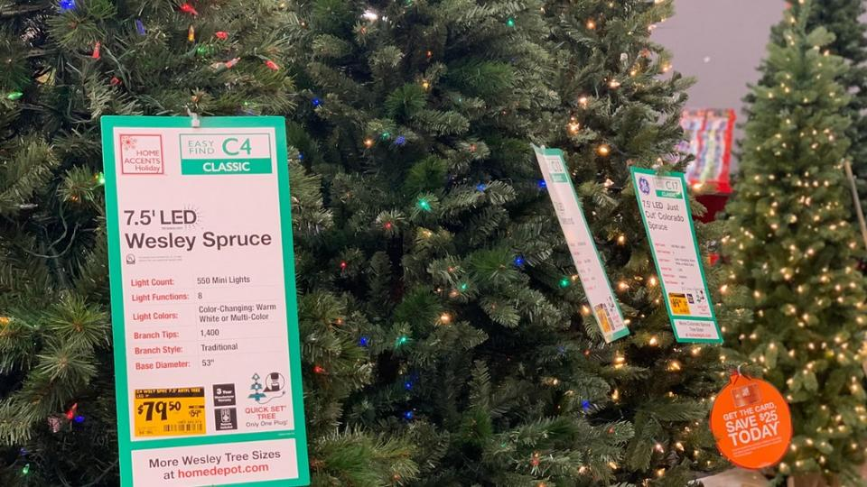 Christmas Clearance At Home Depot