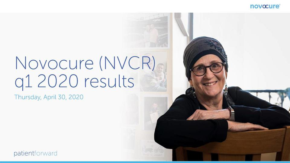 Novocure Limited 2020 Q1 Results Earnings Call Presentation