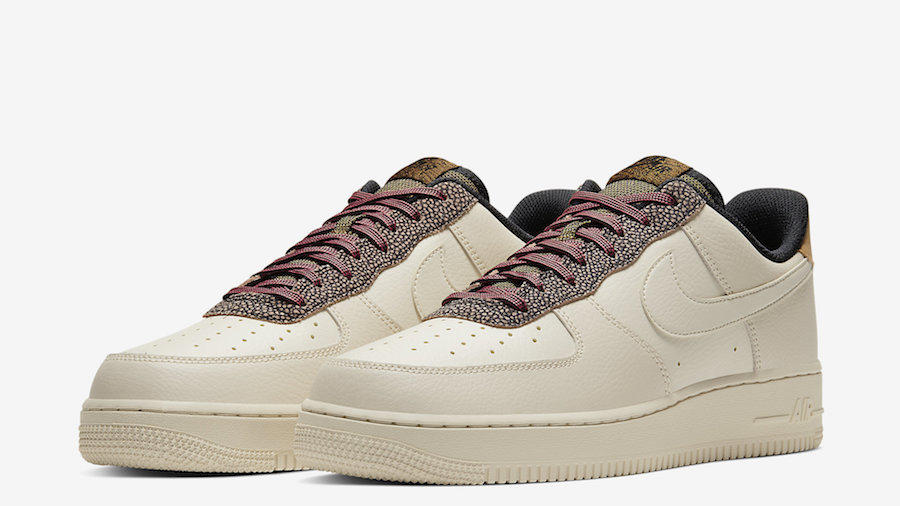 The Nike Air Force 1 Low Available with Pebbled and
