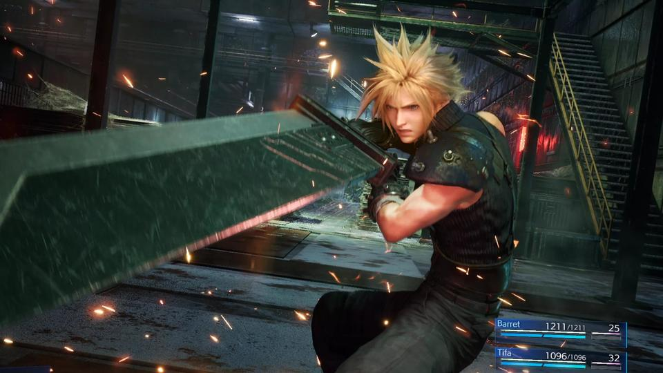 Final Fantasy 7 Remake Demo Out Now On Ps4 News Break