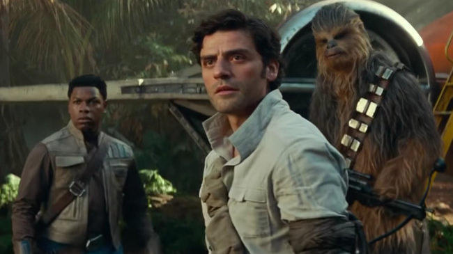Poe Dameron Saying Goodbye To Leia In Star Wars The Rise Of Skywalker Was Oscar Isaac S Idea News Break