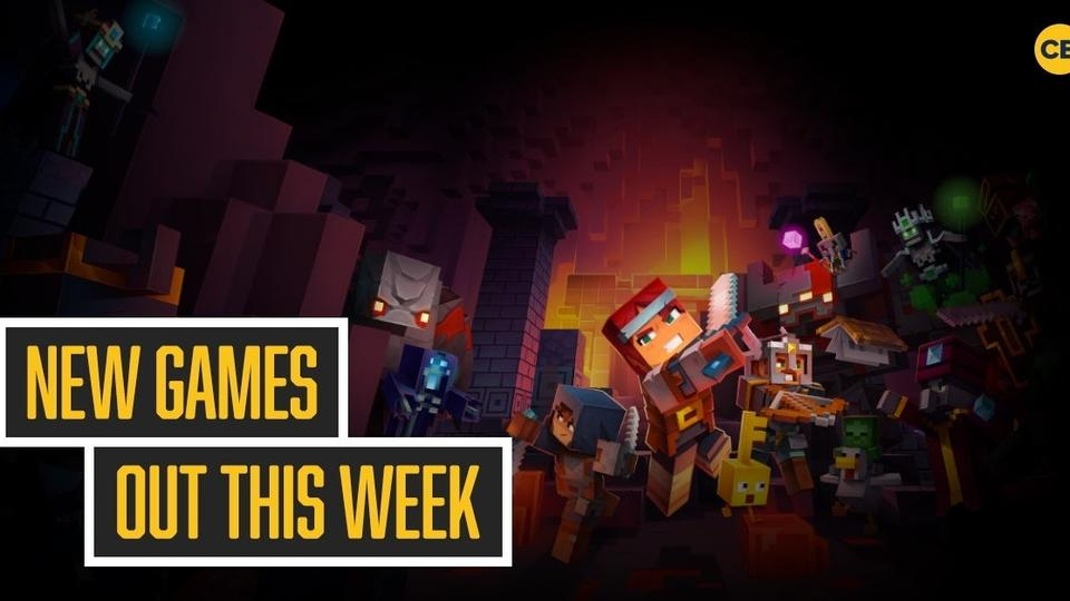 New Games Out This Week Minecraft Dungeons Mortal Kombat 11