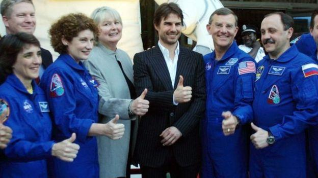 NASA and Tom Cruise together in space   News Break