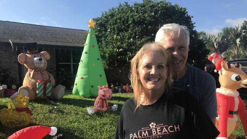 Lake Worth Neighbors Become Spirited Competitors With Holiday Displays News Break
