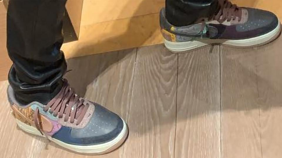Travis Scott's New Nike Air Force 1 Could Drop This Fall