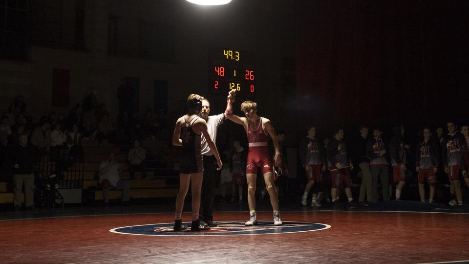 Natick High Wrestling Beats Rival Framingham To Secure Share Of