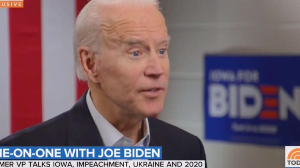 Joe Biden Snaps At Today Host Savannah Guthrie Over Hunter Burisma Question You Don T Know What You Re Talking About News Break