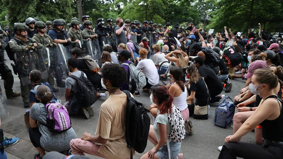 Not going to be peace in the streets': D.C. protesters vow to ...