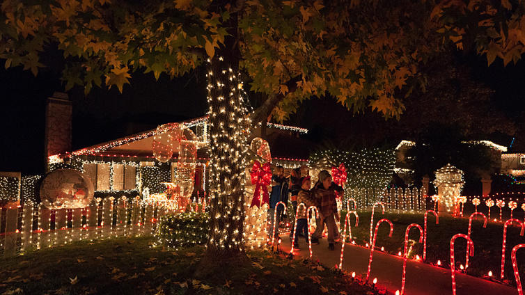 Socal S Brightest Holiday Lights And