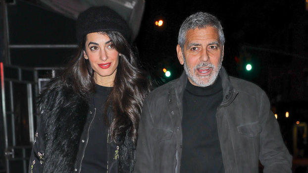 Amal Clooney Wore Daisy Dukes in a Totally Unexpected Way