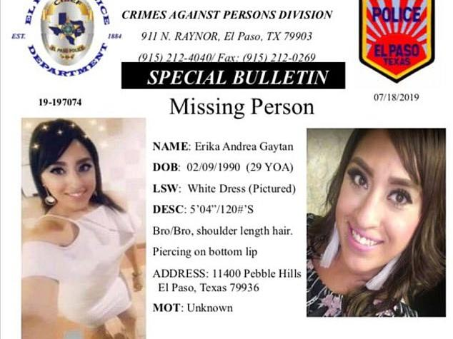Pray: Texas Police Make Appeal for Information About a Young Mother
