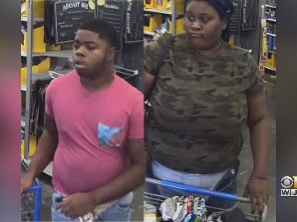 Tips Help Police Identify 2 Suspects Caught Stealing From