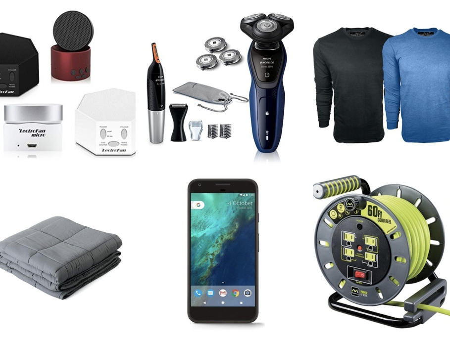 Woot Daily Deals: White Noise Machines, Shavers And Razors, Pressure Washers, Sueded Long Sleeve Tees