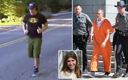 Husband of missing Connecticut mom goes for a jog with his ankle monitor on the morning after posting $500,000 bail - as his lawyer says he DOES have an alibi which proves he did not kill her - he was 'at home'