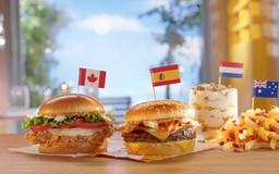 McDonald's Nearly Free Food Day: New Global Menu