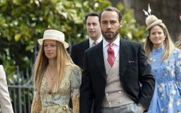 James Middleton and His Girlfriend, Alizee Thevenet, Made Their Royal Debut at Lady Gabriella's Wedding