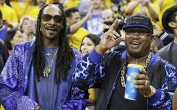 Snoop Dogg to DJ Warriors Game 4 after party