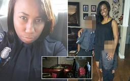 Off-duty Detroit police officer and mother-of-two, 34, is shot dead in domestic violence incident