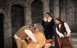 THEATRE REVIEW: In Ghent Playhouse's 'Don Juan, the libertine,' comic elements come first