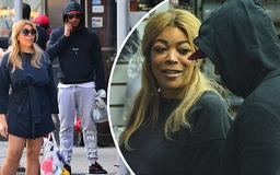 Wendy Williams, 54, enjoys shopping trip with her new beau and convicted felon Marc Tomblin, 27, in NYC