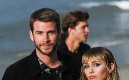 Miley Cyrus and Liam Hemsworth Had a PDA-Filled Date at Saint Laurent's Men's Fashion Show