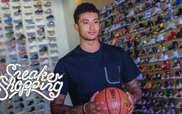 How Kyle Kuzma Impressed LeBron James With His Own Sneakers