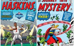LOOK: Haskins, Bosa featured as ESPN and Marvel redesign comic book covers for NFL Draft