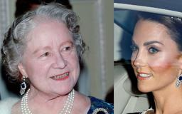 Kate Middleton Pays Tribute to the Queen Mother at the Trump State Banquet