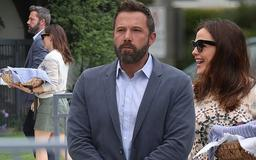 Jennifer Garner and Ben Affleck are co-parenting champs as they take their children to church in Pacific Palisades