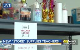 """EVSC Helps Teachers With School Supply """"Store"""""""