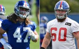 How Jake Carlock and James O'Hagan, the Giants' two LI natives, plan to spend their time off before training camp