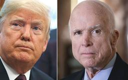 Twitter users troll Trump on his birthday with #JohnMcCainDay