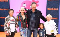 Blake Shelton And Gwen Stefani Step Out With Her Boys Amid News She Is 'Struggling' To Co-Parent With Gavin Rossdale