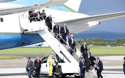 In pictures: Donald Trump's first day in Ireland