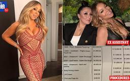 EXCLUSIVE: Mariah Carey used assistant's AMEX to hide $40K of butt enhancements, firming treatments and other cosmetic surgeries, and also enjoyed shopping sprees on her employee's card, splashing out $24K on lingerie, insiders claim