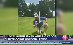 Local businessman gets hole-in-one, wins $10,000 at Doe River Gorge Golf Challenge